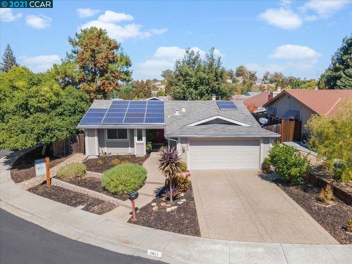 1411 Ridgewood Dr Martinez CA Home. Photo 1 of 40