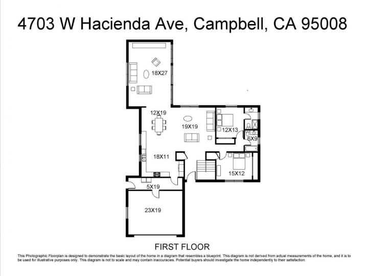 4703 W Hacienda Ave Campbell CA Home. Photo 15 of 40