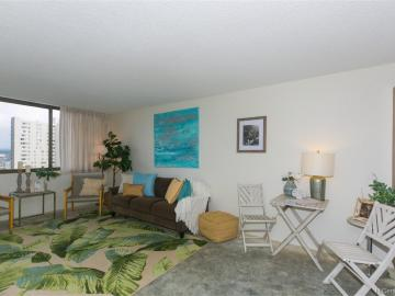 1255 Nuuanu Ave unit ##E2206, Downtown, HI