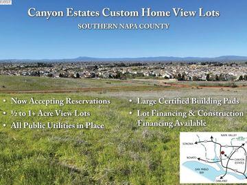 270 Canyon Estates Cir Lot 8, American Canyon, CA