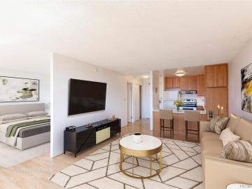 55 S Kukui St unit #D1510, Downtown, HI